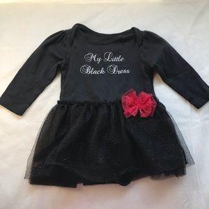 5/$25 VITAMINS BABY little black dress